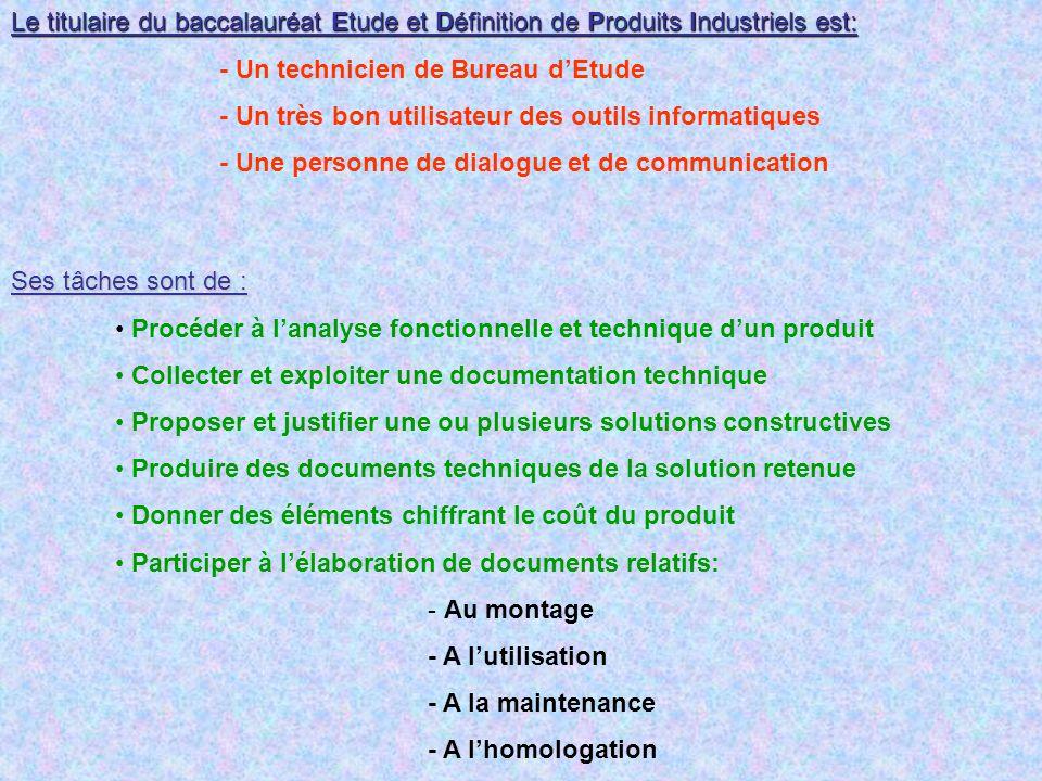 Etude et Dfinition de Produits Industriels ppt tlcharger