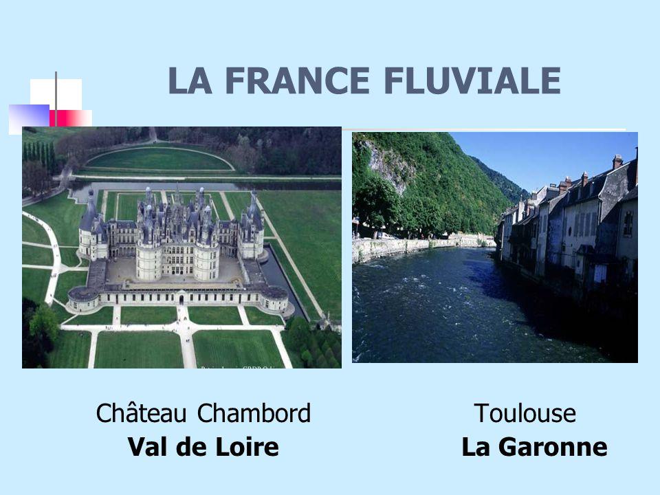 LA FRANCE FLUVIALE Château Chambord Toulouse.