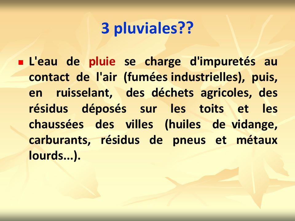 3 pluviales