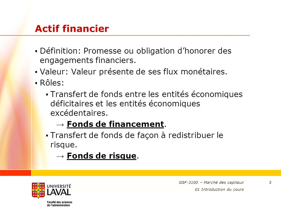 Beautiful Actif Financier Définition: Promesse Ou Obligation Du0027honorer Des  Engagements Financiers. Valeur: