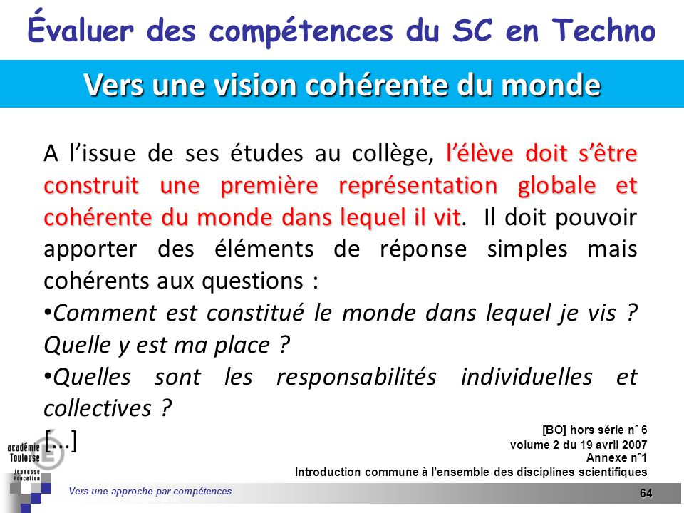 u00c9valuer des comp u00e9tences du socle commun en technologie