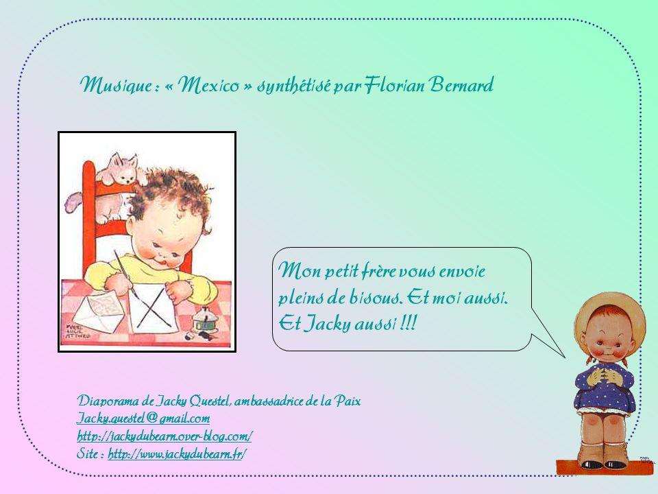 Musique : « Mexico » synthétisé par Florian Bernard