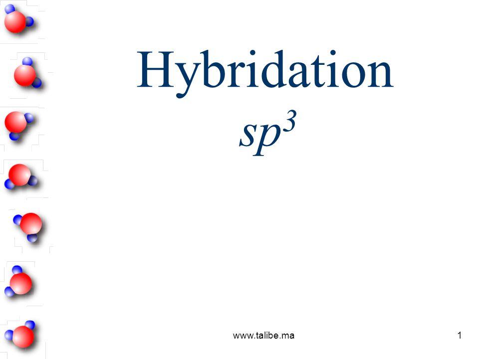 Hybridation sp3 www.talibe.ma