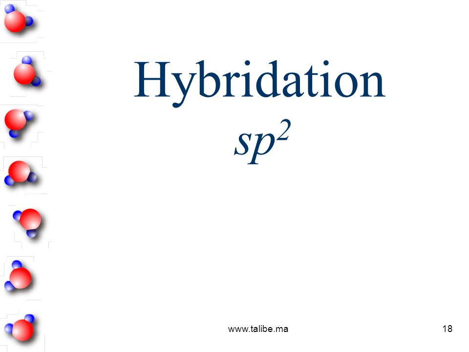 Hybridation sp2 www.talibe.ma