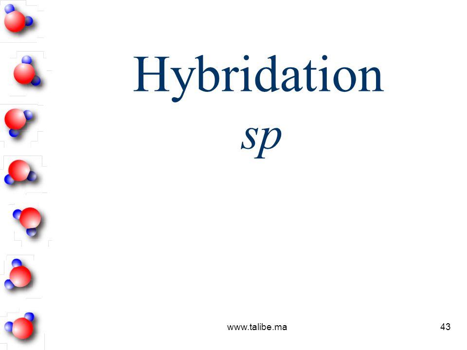 Hybridation sp www.talibe.ma