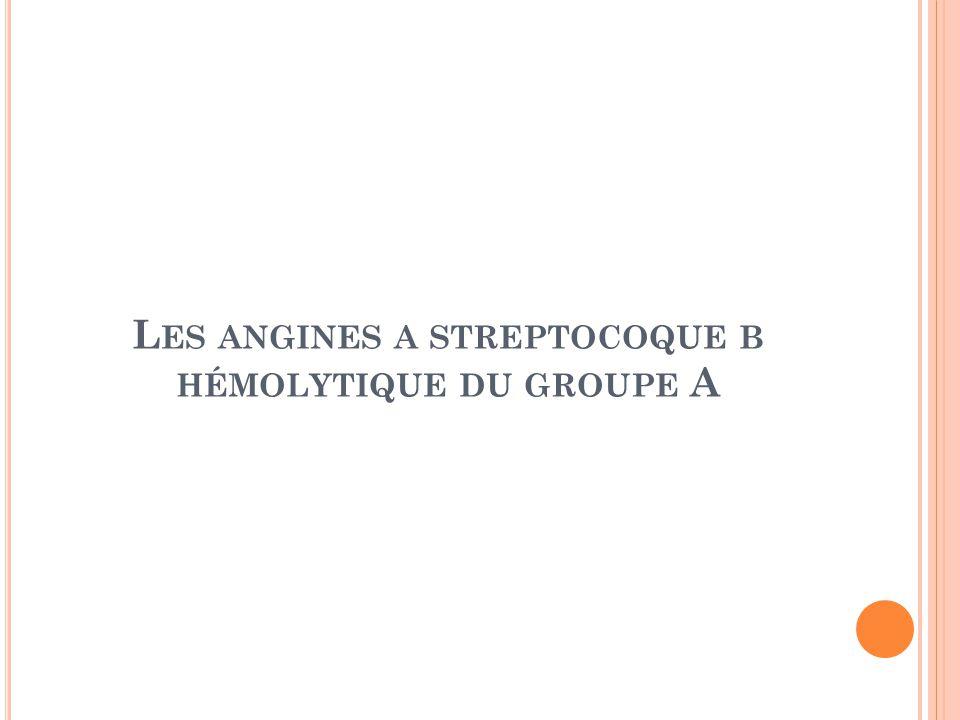 Streptocoques A et B : informations et traitement