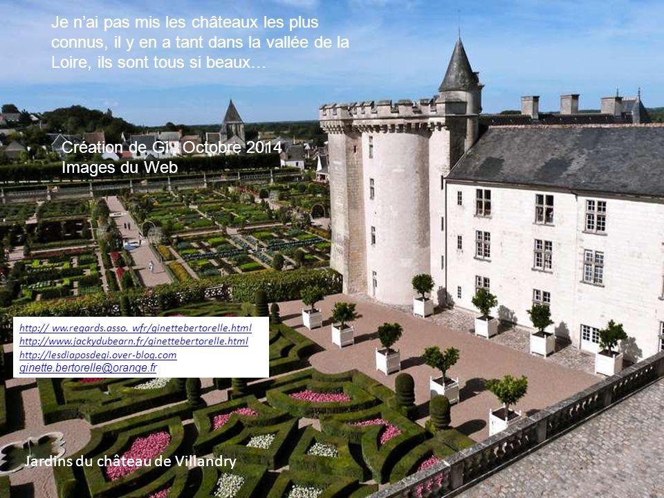 Ch teaux de la loire diaporama de gi ppt video online t l charger - Les plus beaux jardins des chateaux de la loire ...