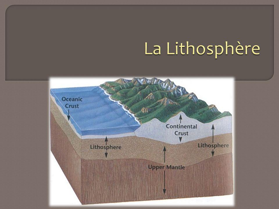 La Lithosphère
