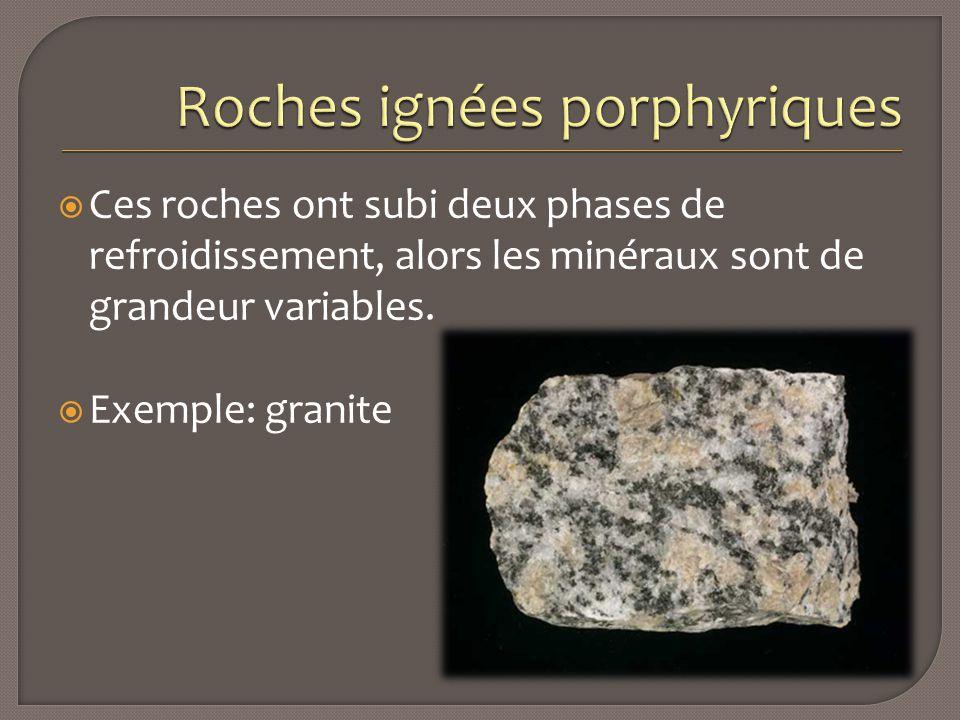 Roches ignées porphyriques