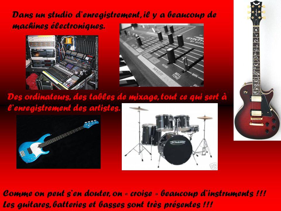 Studio d enregistrement ppt t l charger - Table de mixage studio d enregistrement ...