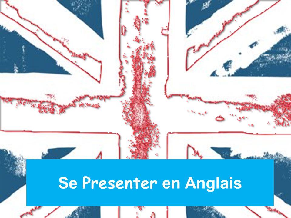 se presenter en anglais