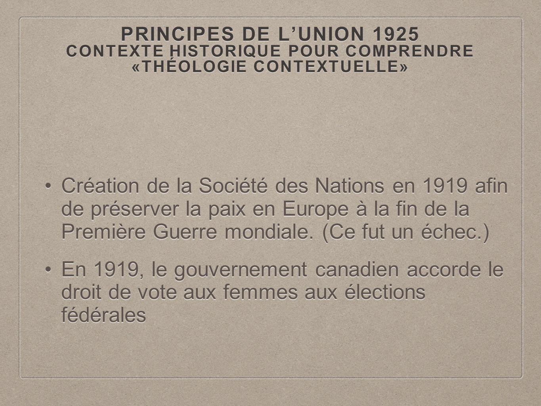 Glise unie un si cle de th ologie dieu et la trinit - La chambre des officiers contexte historique ...