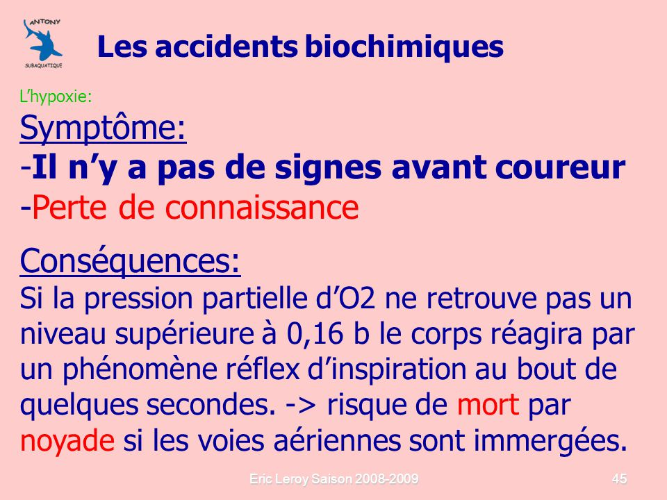 les accidents barotraumatiques les accidents biochimiques ppt t l charger. Black Bedroom Furniture Sets. Home Design Ideas