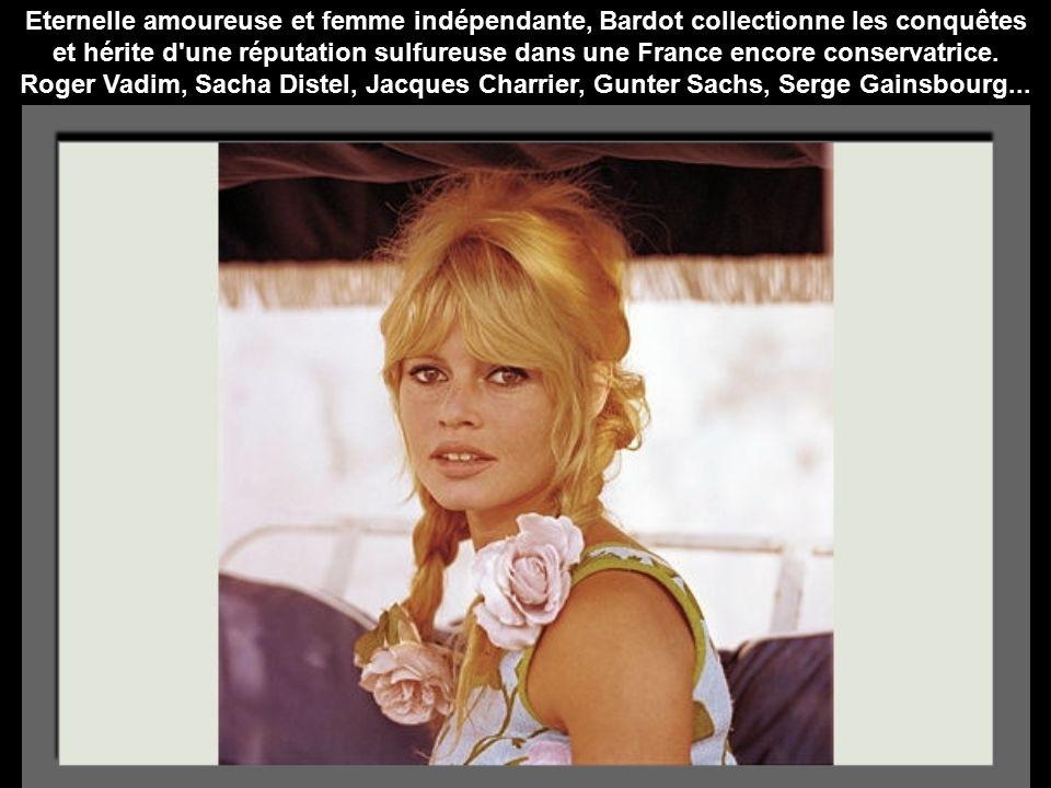 Eternelle amoureuse et femme indépendante, Bardot collectionne les conquêtes et hérite d une réputation sulfureuse dans une France encore conservatrice.