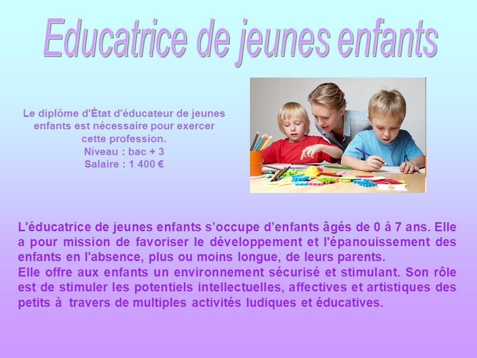 Educatrice de jeunes enfants ppt t l charger - Grille salaire educatrice de jeune enfance ...