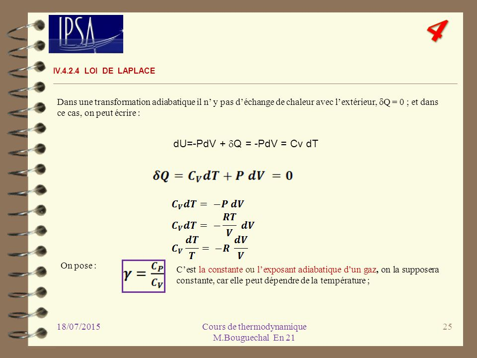 4 cours de thermodynamique  module en 21  18  04   ppt video