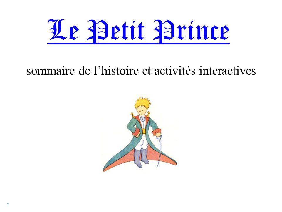 sommaire de l'histoire et activités interactives