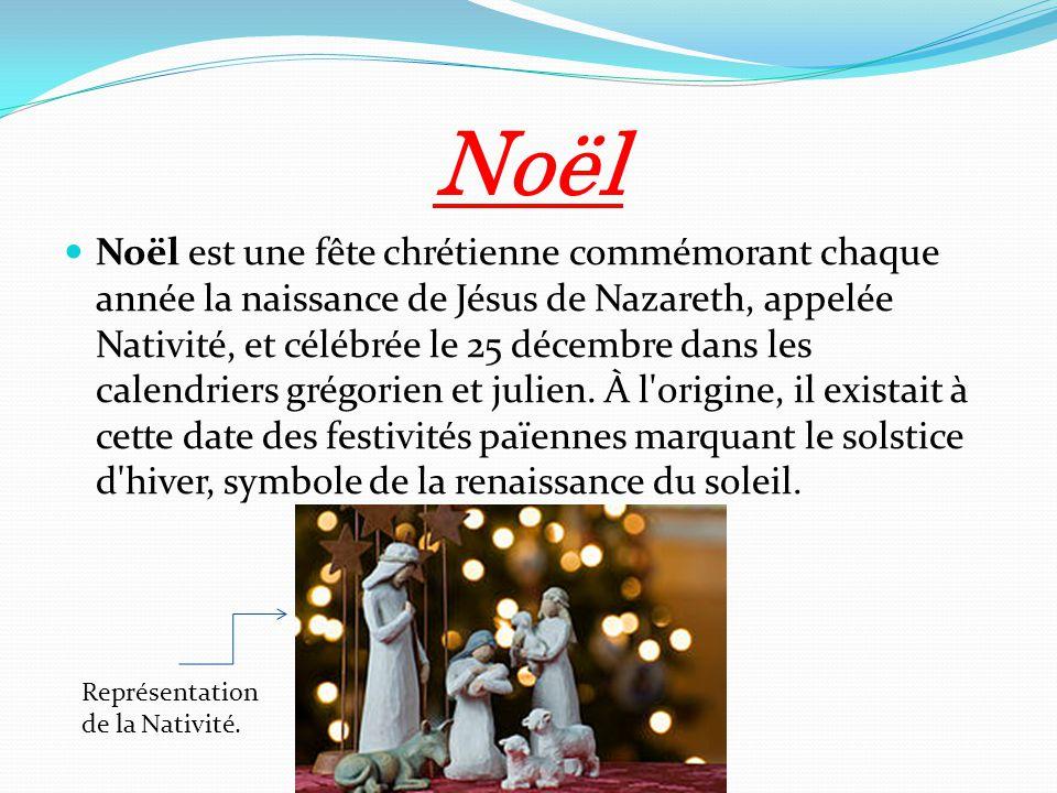 Les f tes chr tiennes par th o 6e a ppt t l charger - Origine de la fete de noel ...