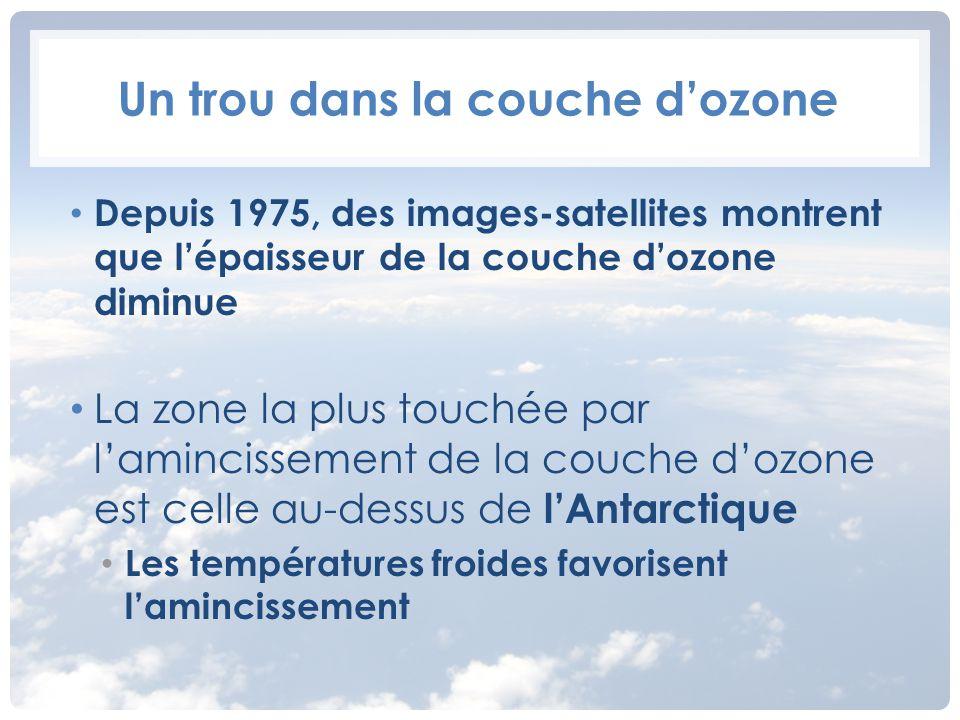 La terre et l espace les caract ristiques g n rales de la terre ppt video online t l charger - Qu est ce que la couche d ozone ...