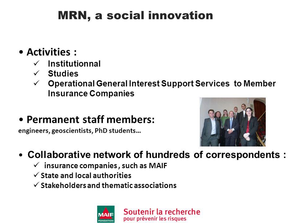 MRN, a social innovation