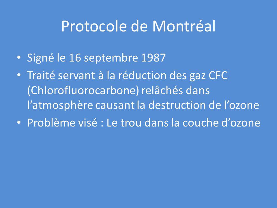 R percussions de l activit humaine sur l environnement - Consequences de la destruction de la couche d ozone ...