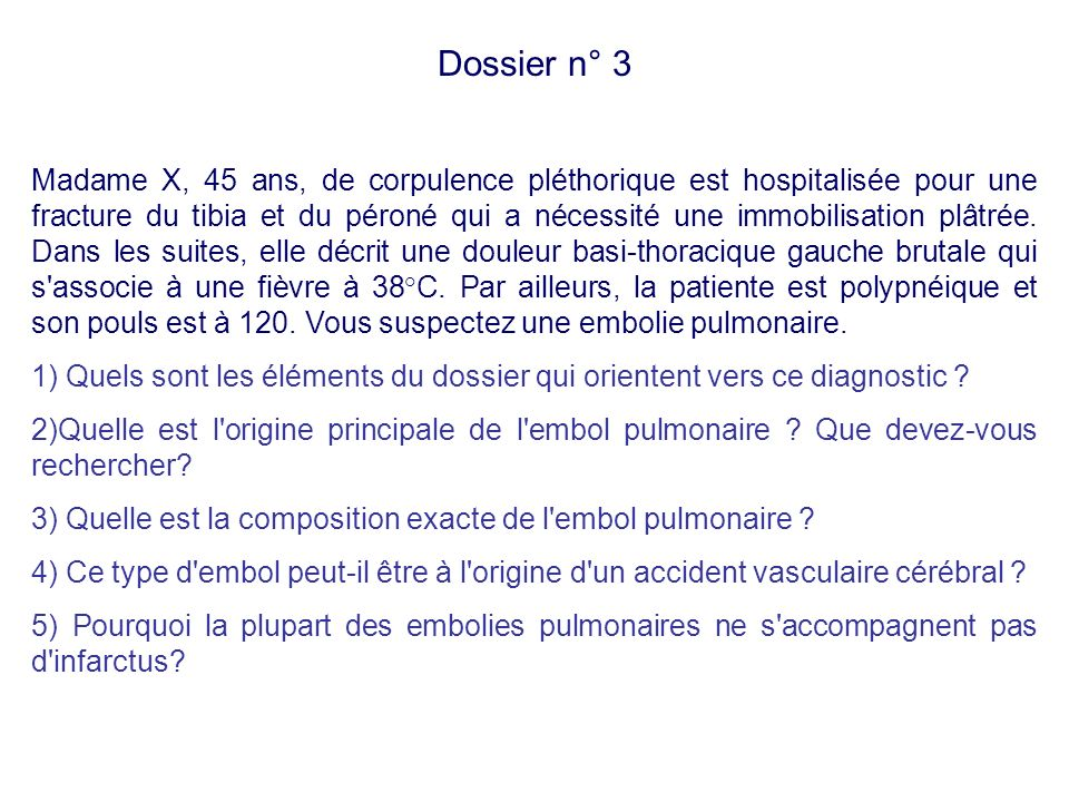 Dossier n° 3
