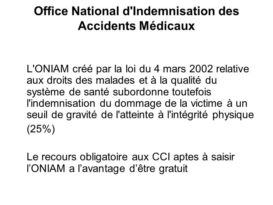 Docteur jean paul hallez ppt t l charger - Office national d indemnisation des accidents medicaux ...