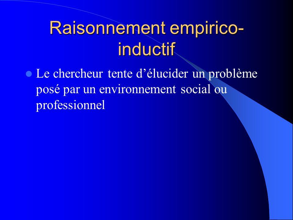 Raisonnement empirico-inductif