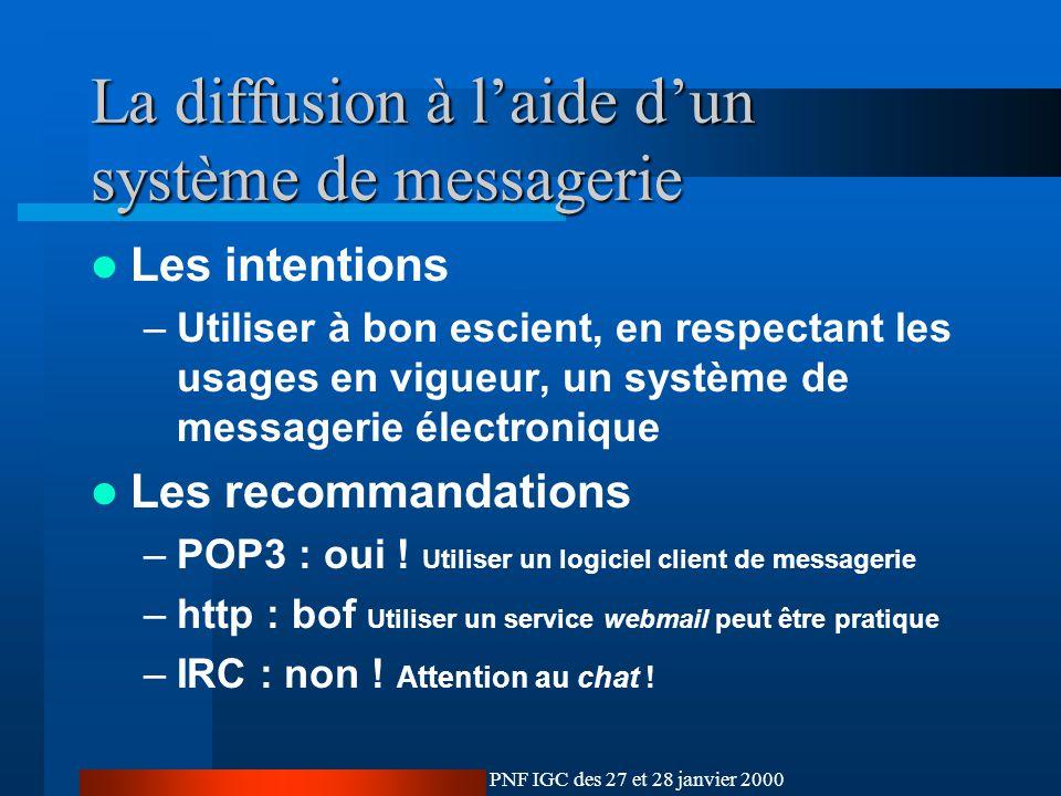 Le cadre technologique de l igc ppt t l charger for L architecture d un systeme de messagerie