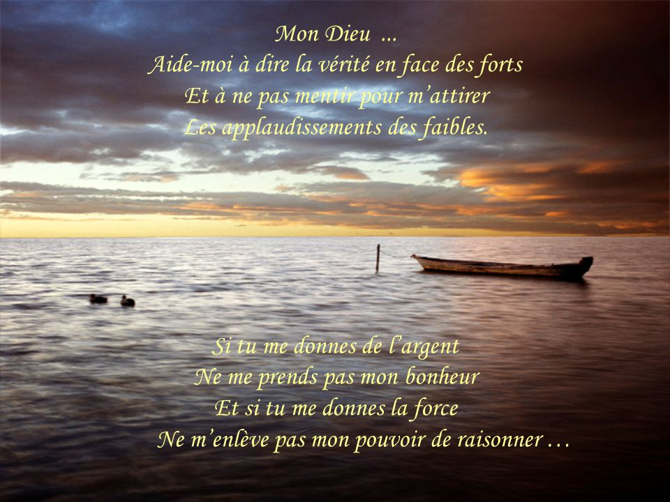Connu Mon Dieu …. - ppt télécharger ZP99