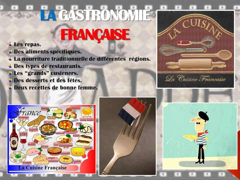 La gastronomie fran aise ppt video online t l charger - Cuisine francaise par region ...