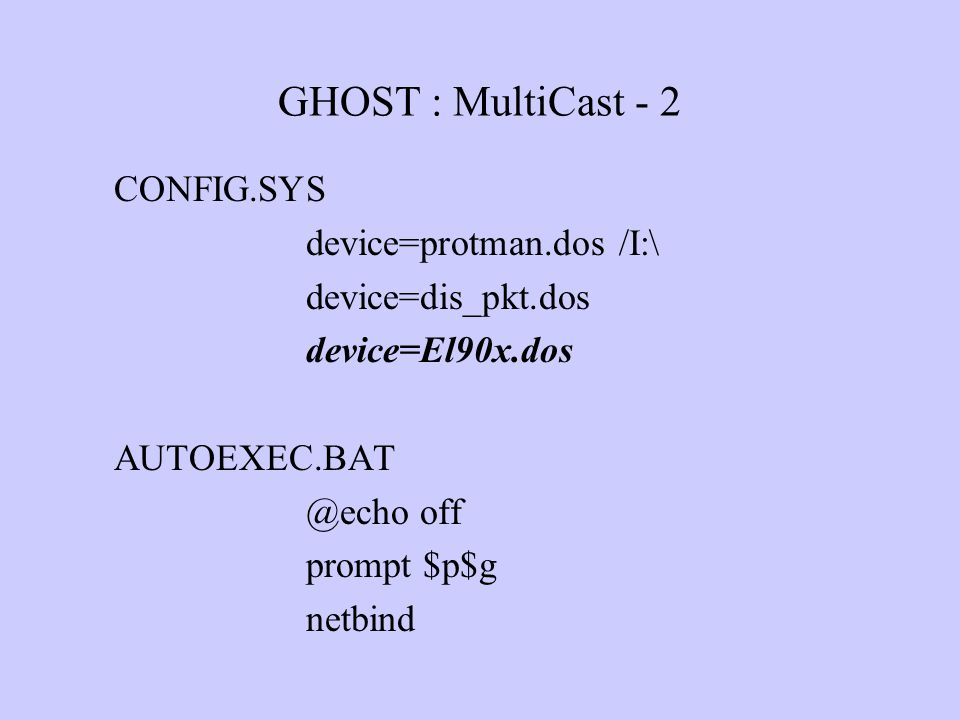 ghost multicasting It is slow and takes lots of time to clone system there is also symantec ghost  corporate edition with multicasting and fast cloning system.