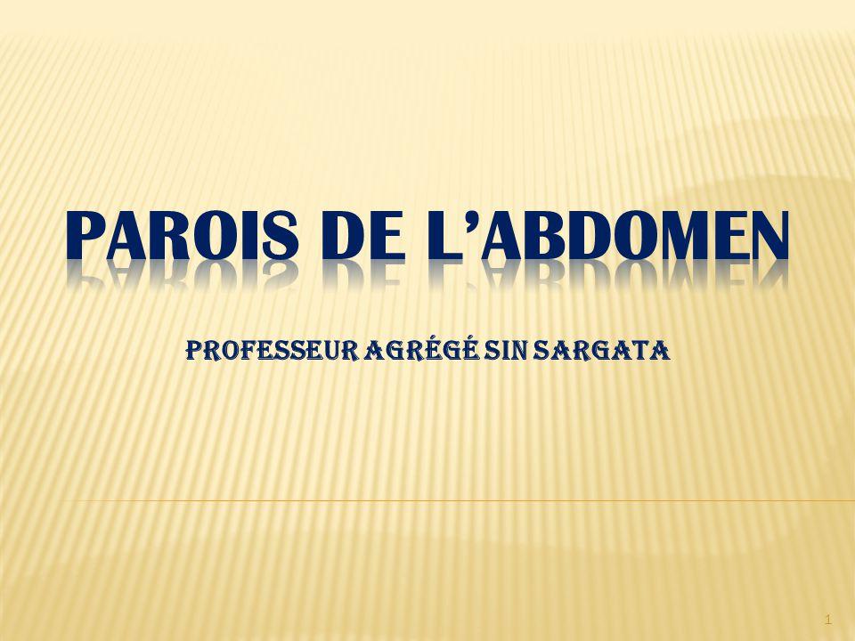 Professeur agrégé SIN Sargata