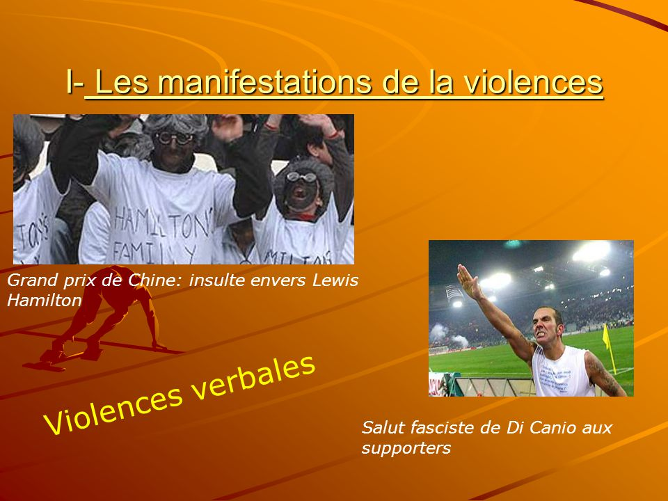 I- Les manifestations de la violences