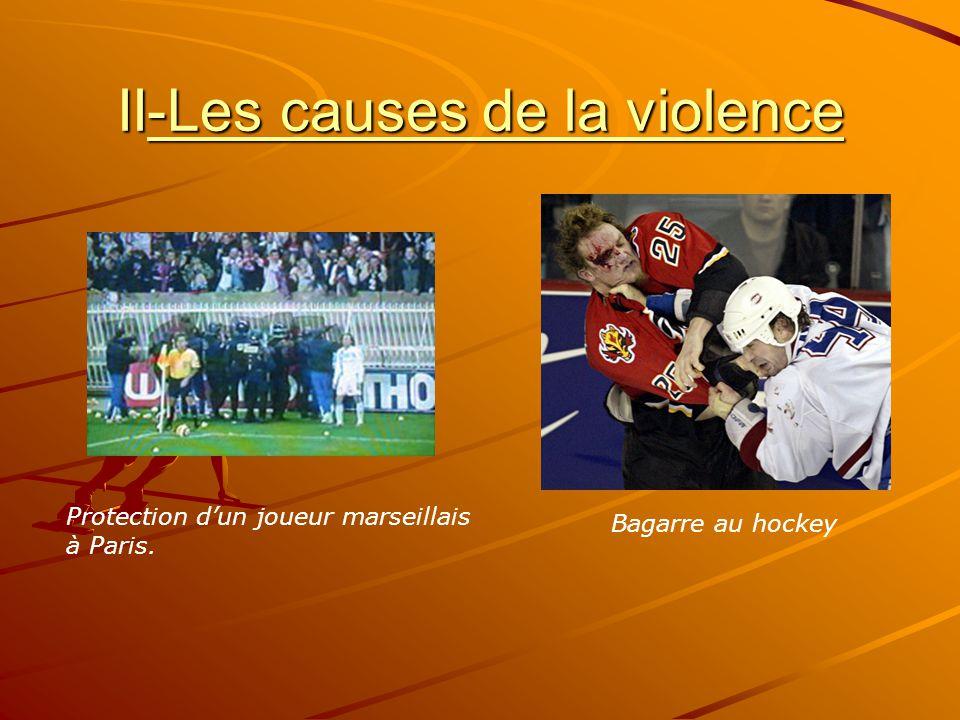 II-Les causes de la violence