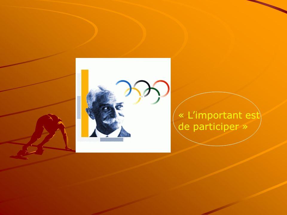 « L'important est de participer »