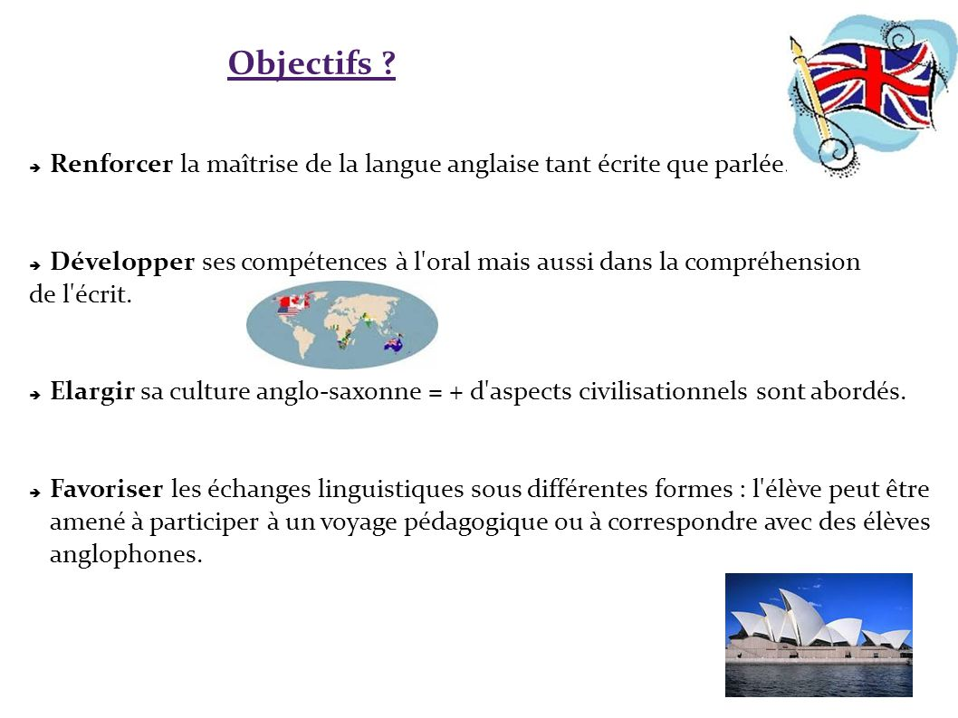 La section europ enne anglais ppt t l charger for Maitrise d ouvrage en anglais