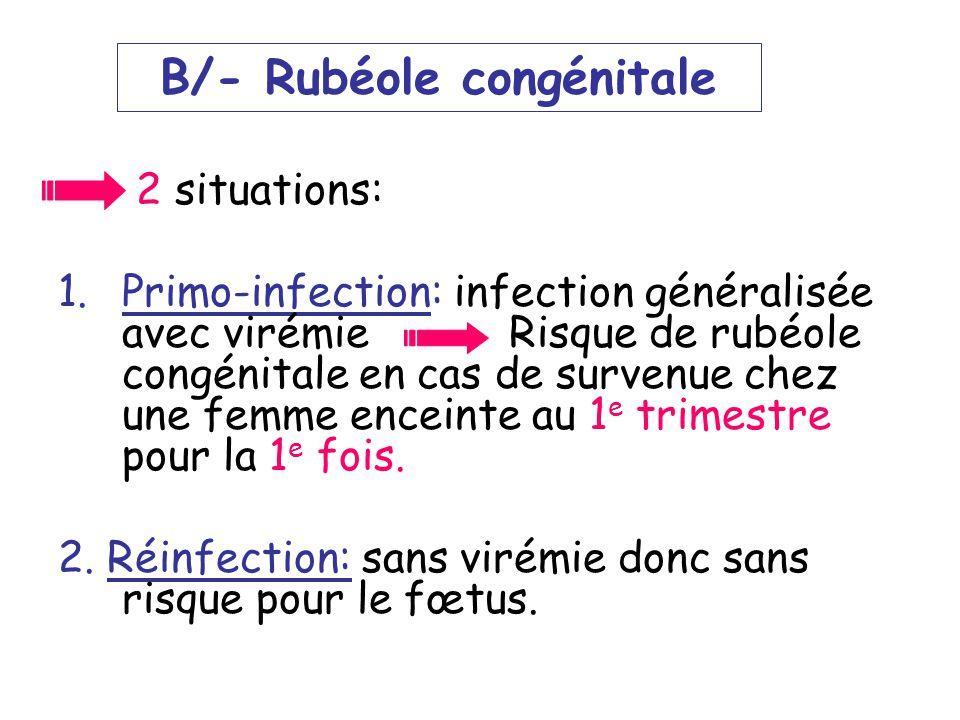 LE VIRUS DE LA RUBEOLE Pr LAOUAR , H Service de