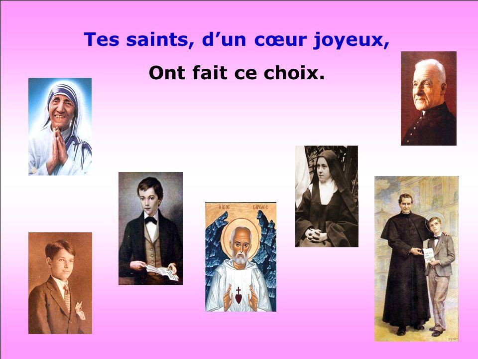 Tes saints, d'un cœur joyeux,