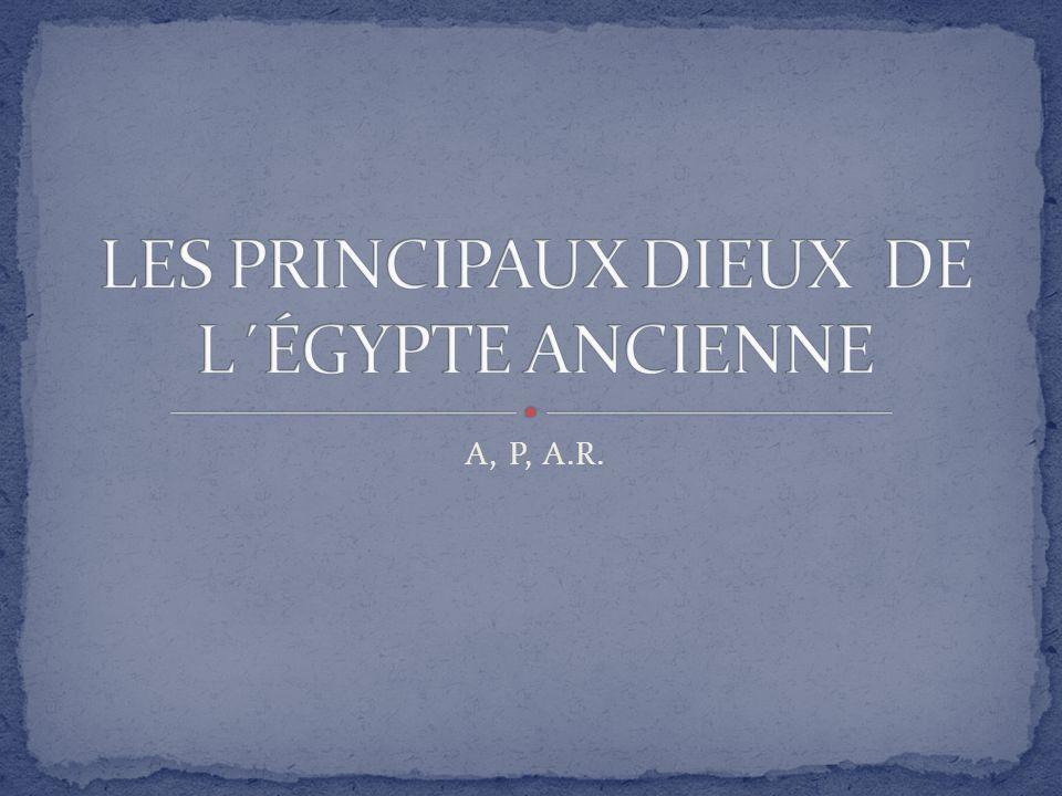 Célèbre LES PRINCIPAUX DIEUX DE L´ÉGYPTE ANCIENNE - ppt video online  QU88