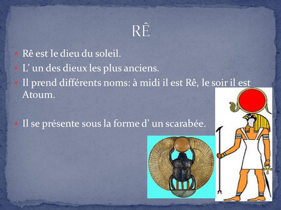 Bien connu LES PRINCIPAUX DIEUX DE L´ÉGYPTE ANCIENNE - ppt video online  WP19