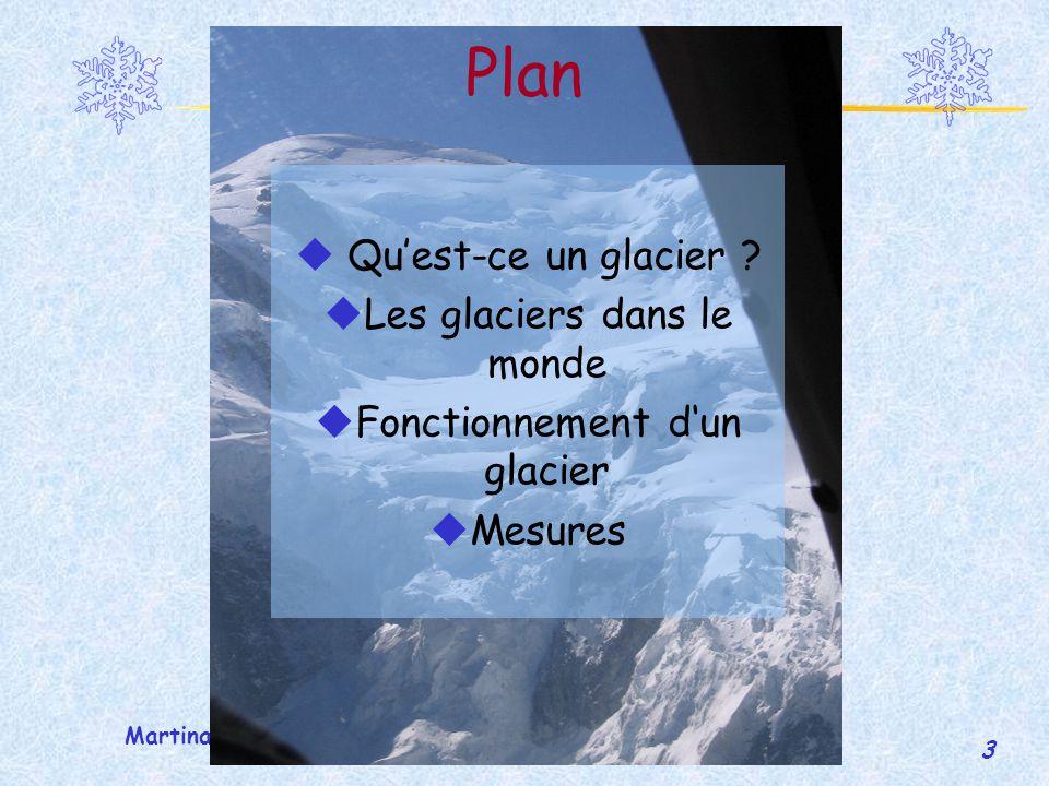 Plan Qu'est-ce un glacier Les glaciers dans le monde