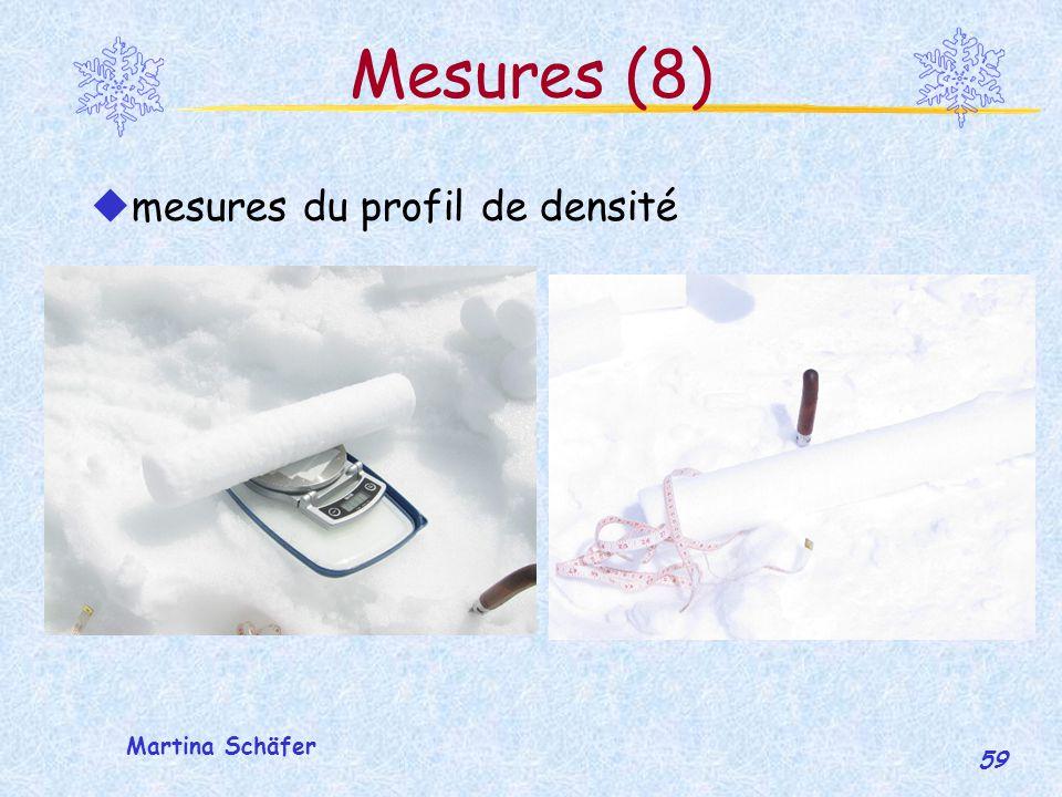 Mesures (8) mesures du profil de densité Martina Schäfer