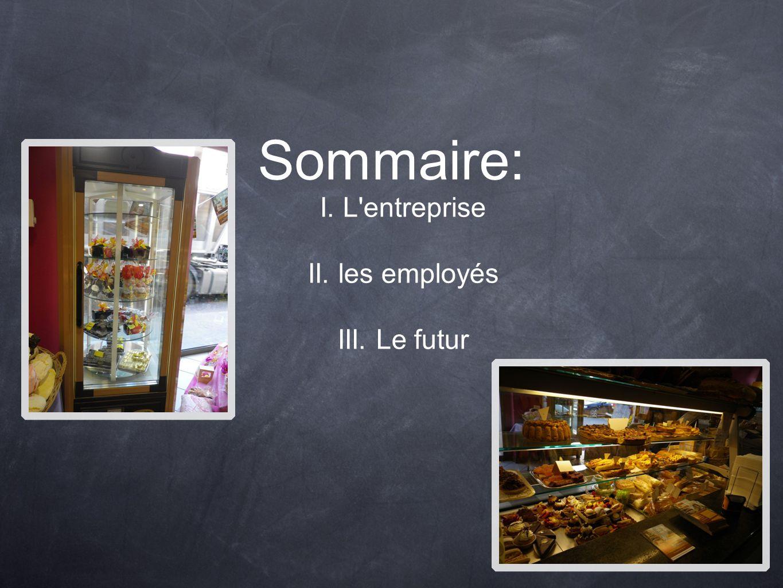 Sommaire: I. L entreprise II. les employés III. Le futur