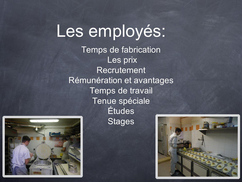 Rémunération et avantages