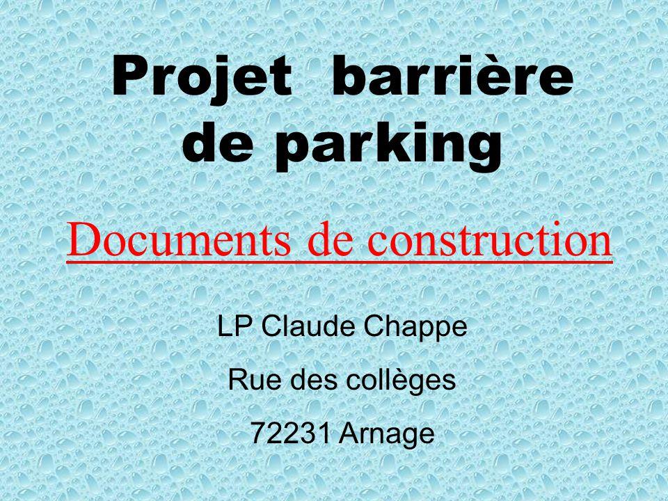 Documents de construction