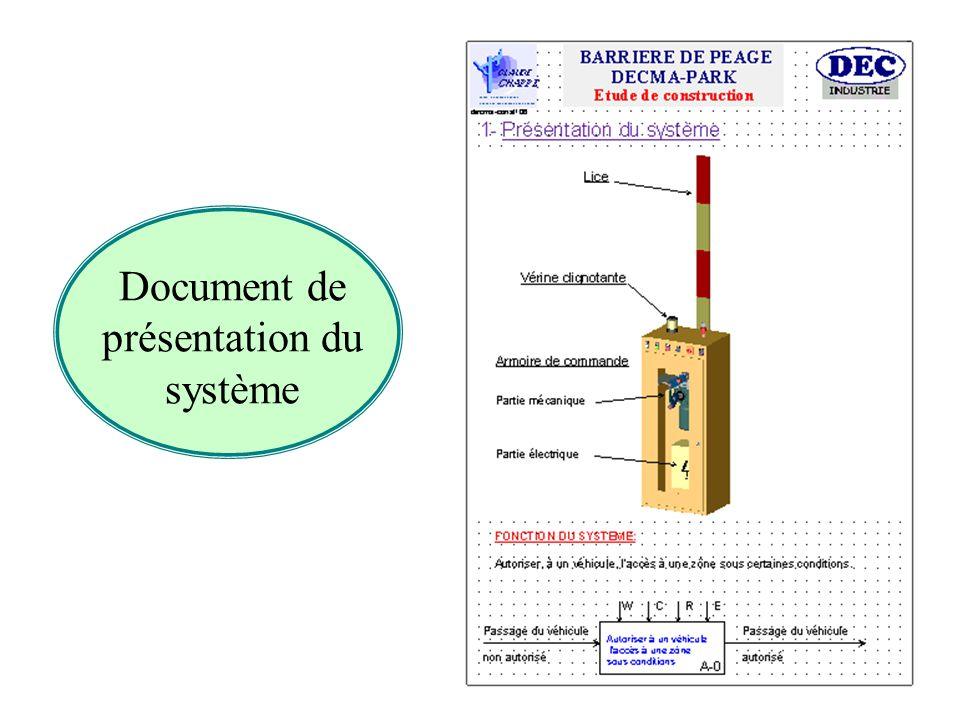 Document de présentation du système