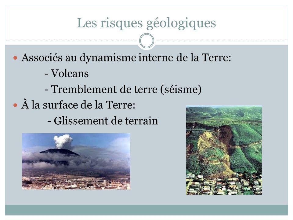 Les risques géologiques