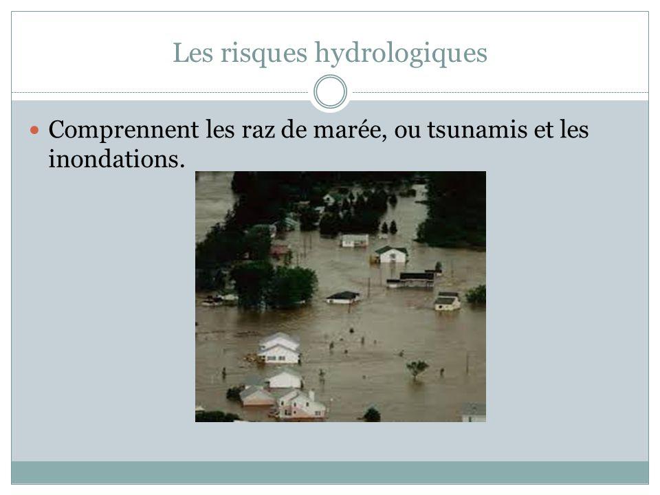 Les risques hydrologiques