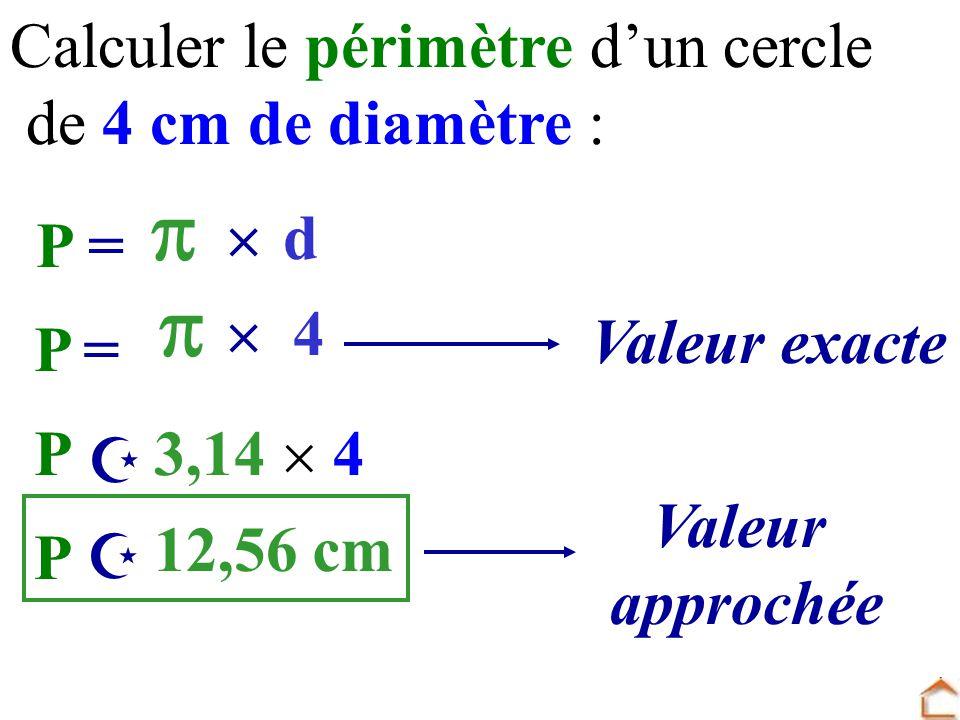 P rim tre d 39 un cercle exemple 1 exemple 2 aire d 39 un disque - Calculer le volume d une piscine ...